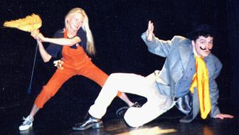 Kathrin Henschel und Hagen Mattzeit