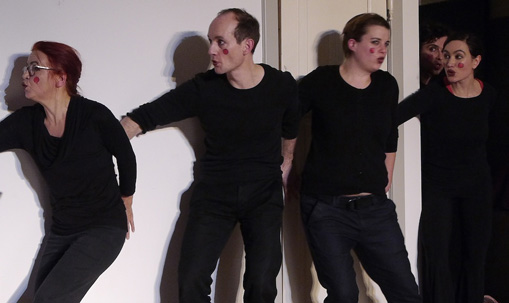 Christa Weber, Michael Ihnow, Berit Kuennecke, Mattis Nolte, Dorothee Krüger
