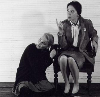 Kathrin Henschel und Catherine Gayer