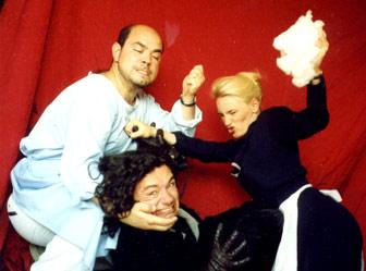 Aldomir Mollov, Mike Keller und Kathrin Henschel