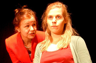 Christa Weber und Julia Lowack